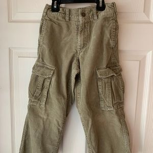 OshKosh Khaki Corduroy Cargo Pants